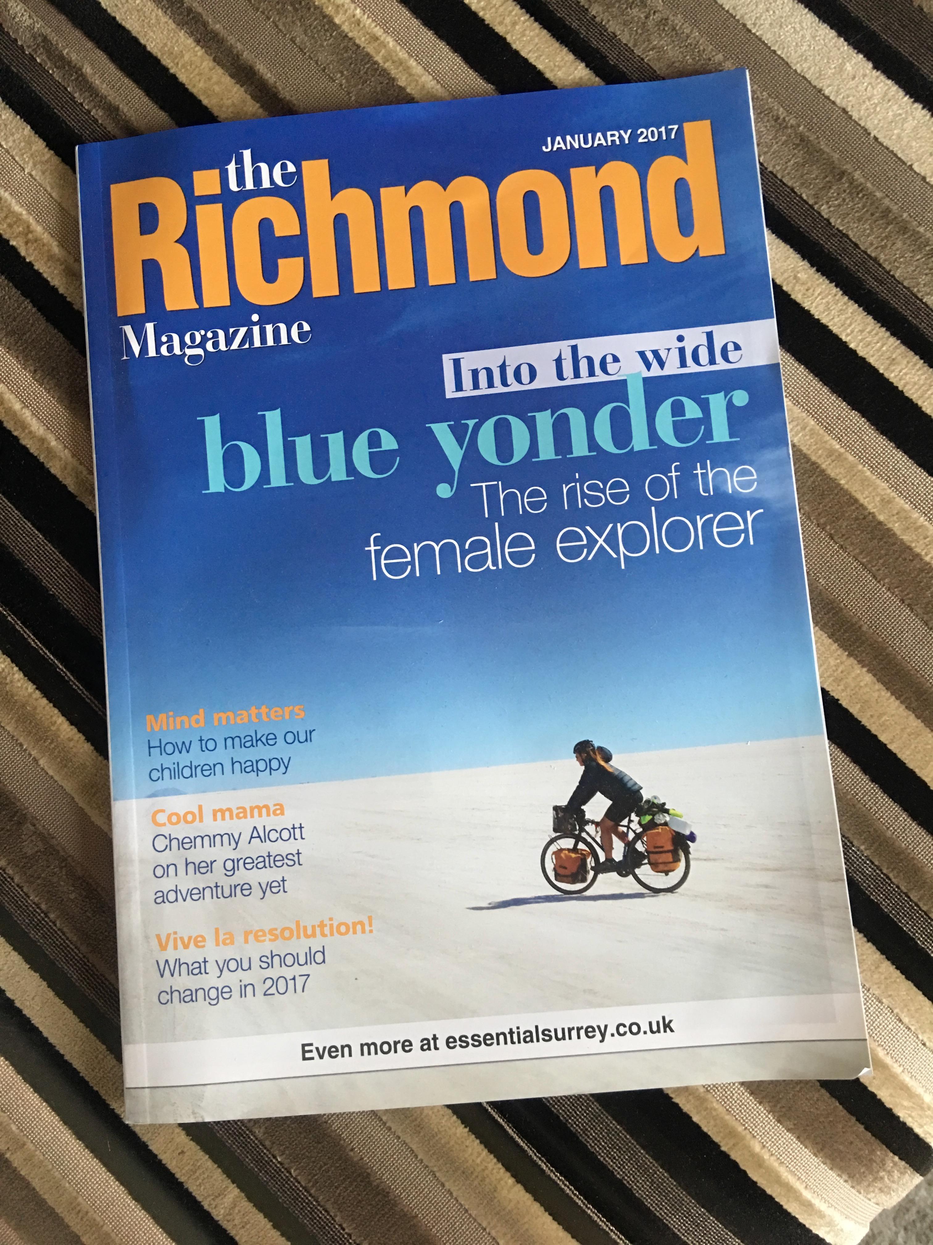 Und das las ich; Richmond ist der Londoner Stadtteil, in dem ich residierte. Ein Herr Jagger von den Rollenden Steinen soll nebenan wohnen.
